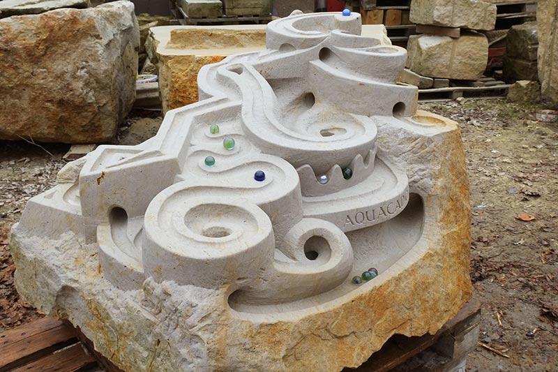 Murmelbahnen aus Stein